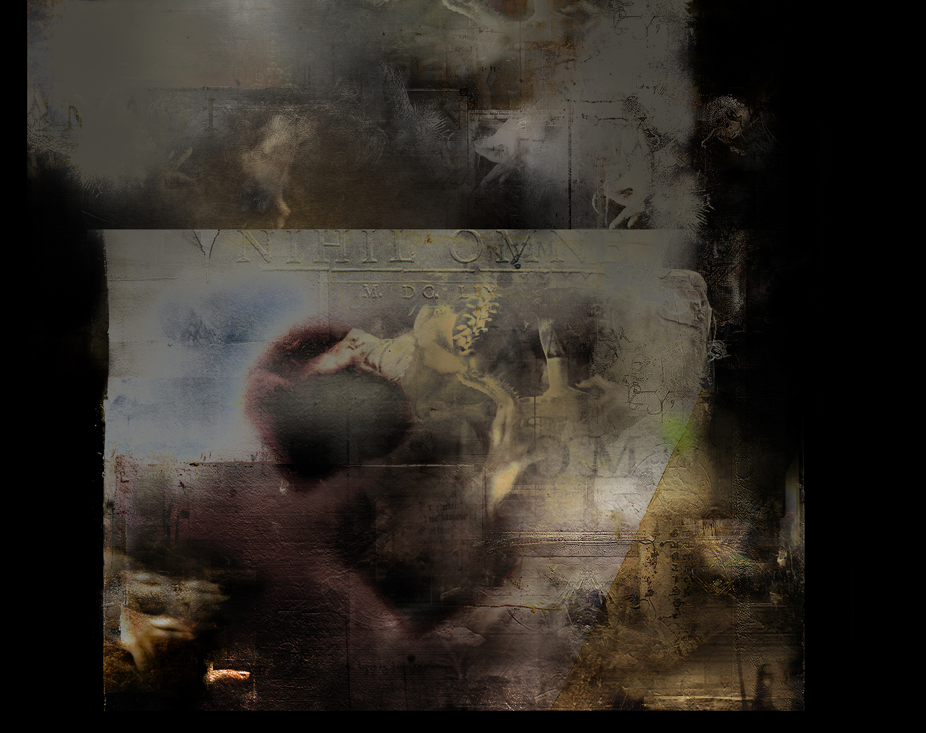 Spleen III/II, digital painting, 2012. Charles Baudelaire Illustrations.