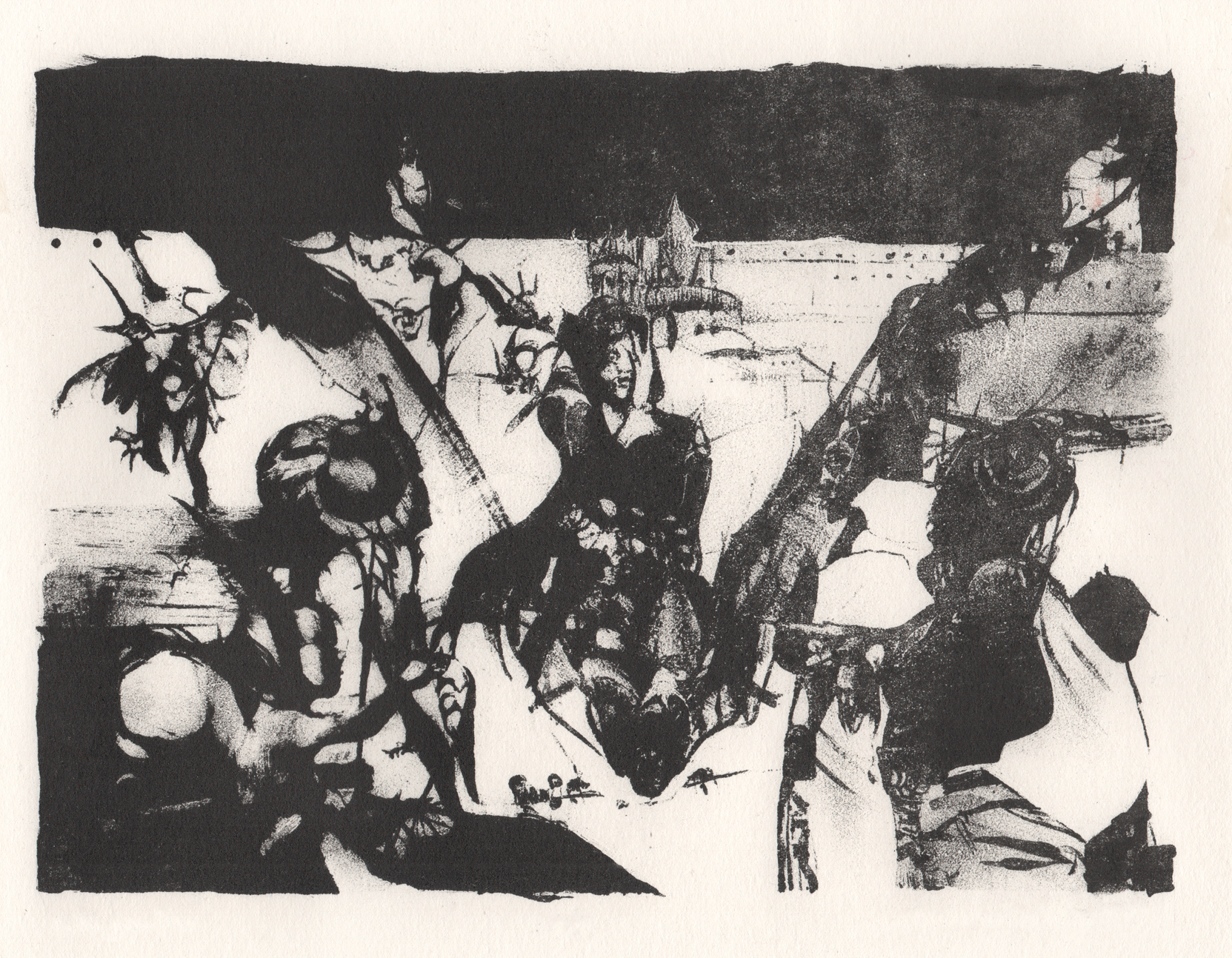 Untitled, lithography.