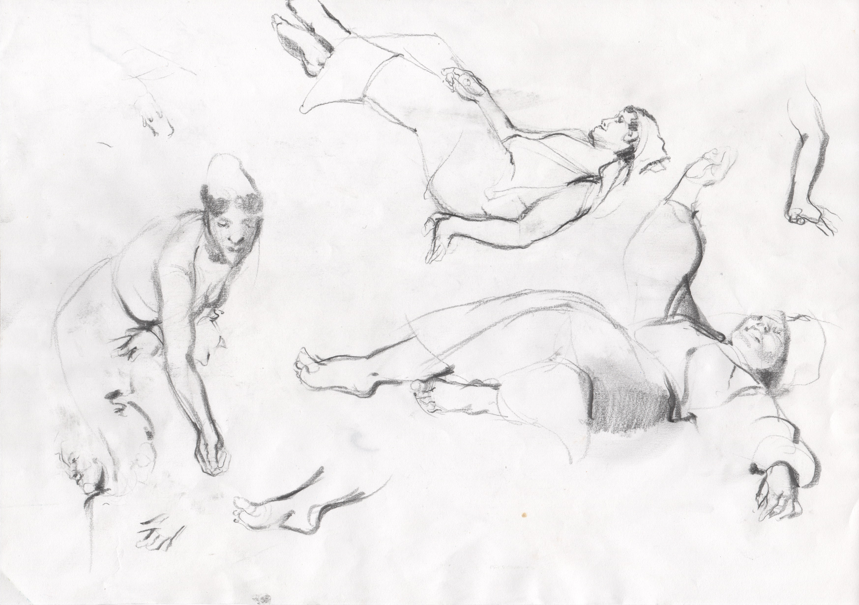 The sketches of figures I